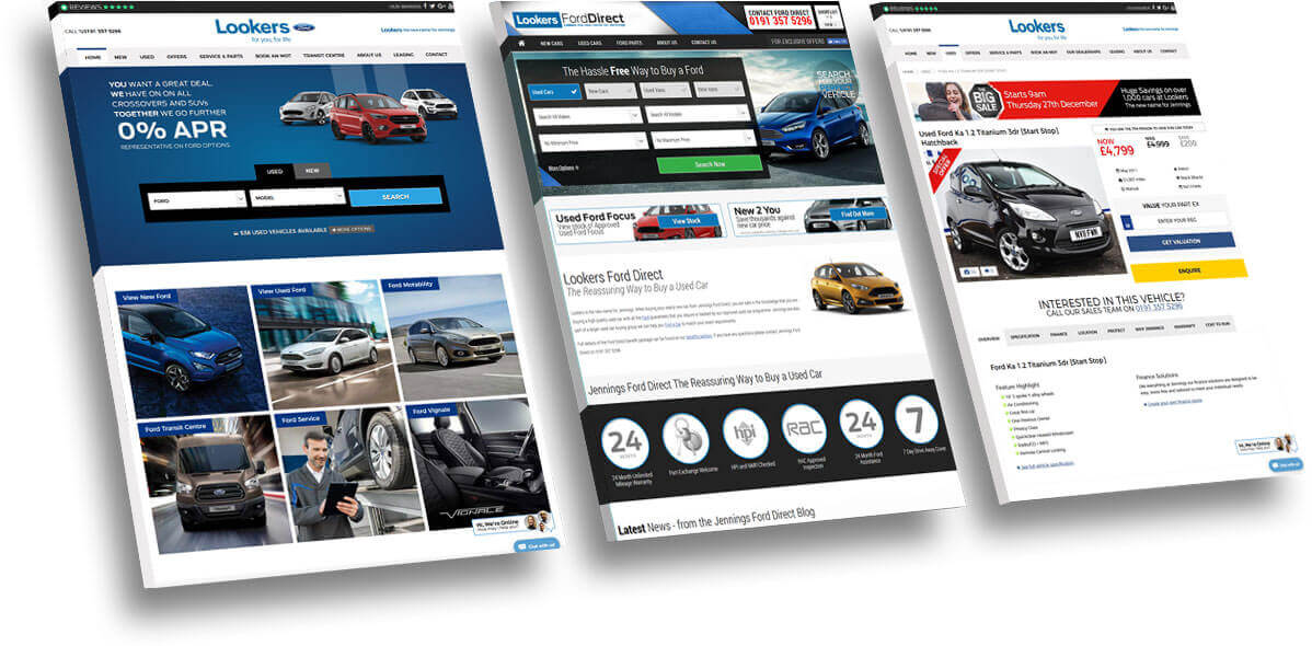 Motor dealer website development company
